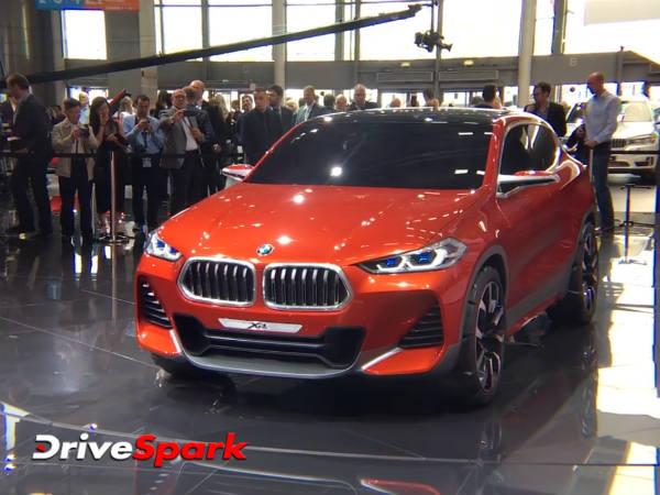 2016 Paris Motor Show: BMW Unveils The X2 Concept— In Pics