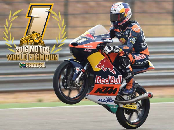 With Four Races To Go, Binder Seals The Moto3 Title
