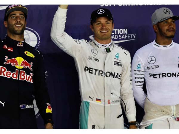 Daniel Ricciardo Backs Nico Rosberg For 2016 F1 Title