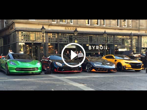 Video: Lamborghini Centenario On Set Of Transformers