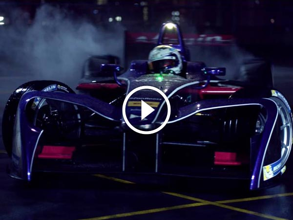 DS Virgin Racing Unveils Its Formula E Season 3 Race Livery