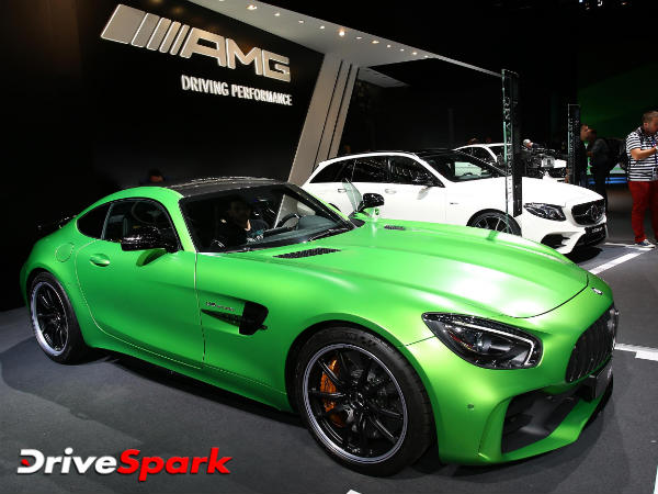 2016 Paris Motor Show: Star Of The Mercedes-Benz Media Night At Paris — Mercedes-AMG GT Roadster