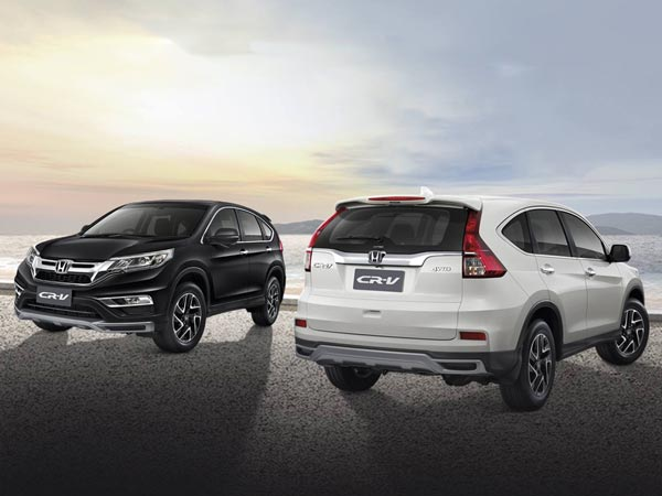 honda launches special edition cr v in thailand drivespark. Black Bedroom Furniture Sets. Home Design Ideas
