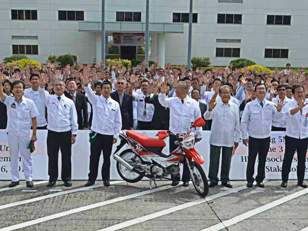 Honda Philippines, Inc. Rolls Out Its 5 Millionth Motorcycle