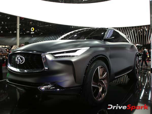 2016 Paris Motor Show: Infiniti's Idea Of Future SUV — The QX Sport Inspiration Concept