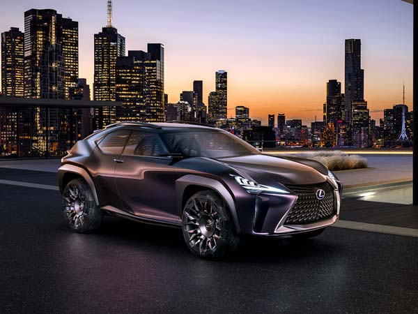 2016 Paris Motor Show: Lexus UX Concept Unveiled At The Paris Motor Show