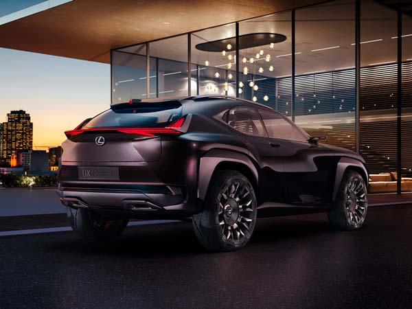 Lexus UX Concept — Interior Revealed Ahead Of Paris Motor Show