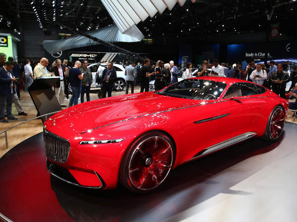 2016 Paris Motor Show: Massive Vision Mercedes-Maybach 6 Showcased