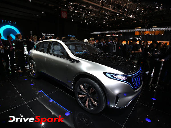 2016 Paris Motor Show: Mercedes-Benz Generation EQ Showcased