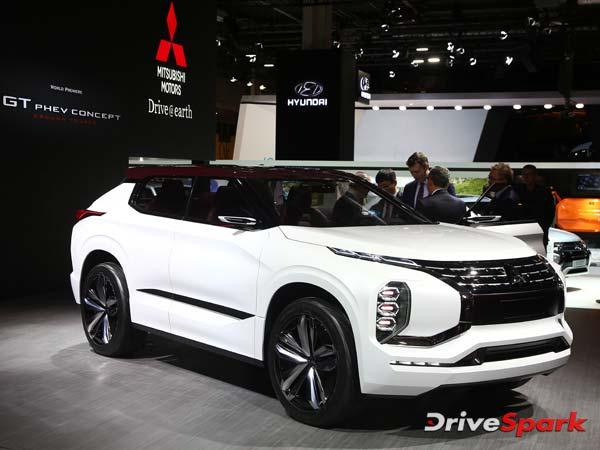 2016 Paris Motor Show: Mitsubishi Reveals GT-PHEW Concept