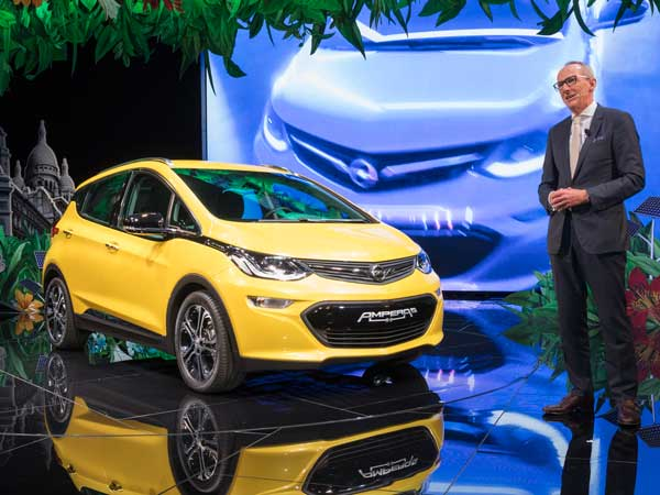 2016 Paris Motor Show: Opel's Big Premiere Of Ampera-e With Better Range Than BMW i3