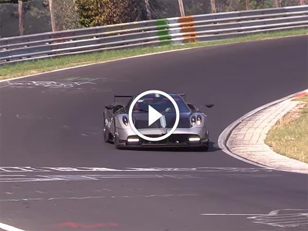 Video: Pagani Testing Huayra BC At Nurburgring