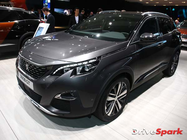 peugeot unveils 3008 gt drivespark. Black Bedroom Furniture Sets. Home Design Ideas