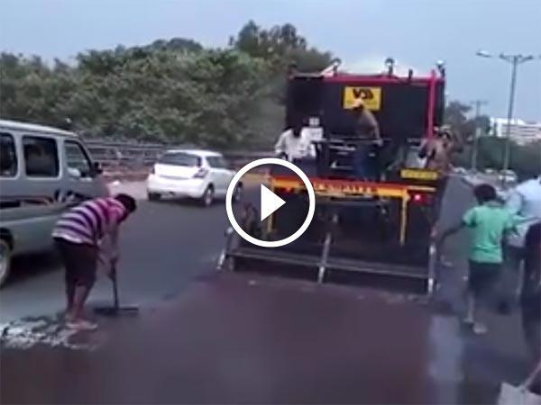 Delhi PWD Uses Microsurfacing Technology To Repair Roads