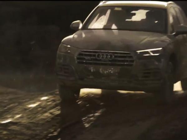 Video: 2017 Audi Q5 Looks Better In Mud