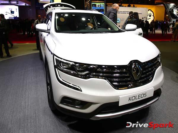 2016 Paris Motor Show: Renault Reveals 2017 Koleos