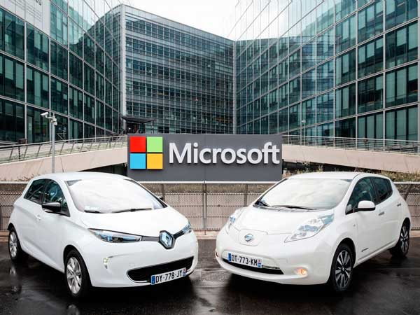 Renault-Nissan To Use Microsoft Azure For Their Connected Driving Experience