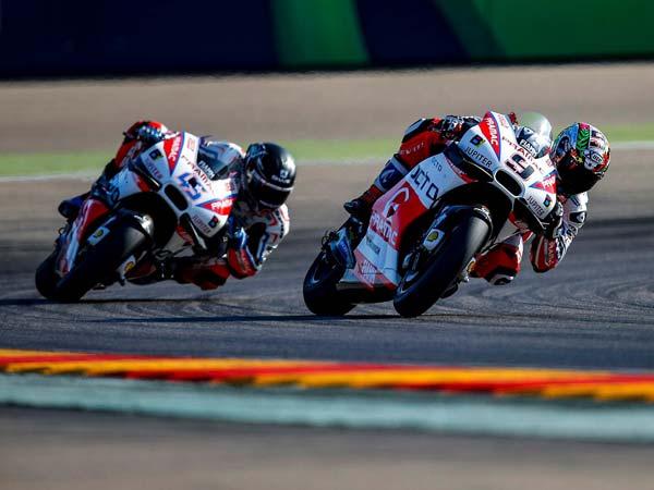 Scott Redding & Danilo Petrucci Share Unpleasantries Post Aragon GP