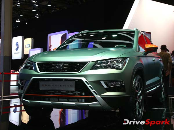 2016 Paris Motor Show: Seat Unveiled Ateca X-Perience