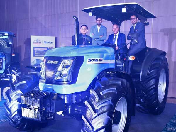 Sonalika Unveils Its 120HP Tractor 'Solis 120'