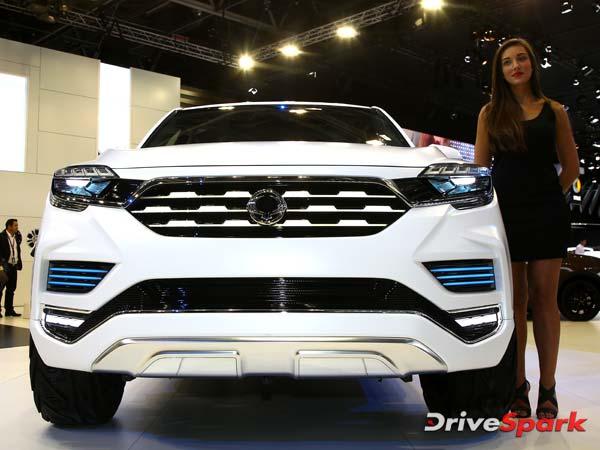 2016 Paris Motor Show: SsangYong Revealed LIV-2-SUV Concept