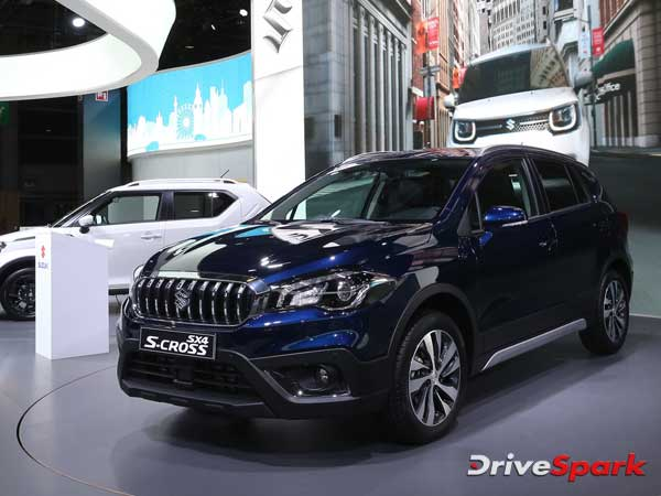 2016 Paris Motor Show: Suzuki Unveils India-Bound S-Cross Facelift