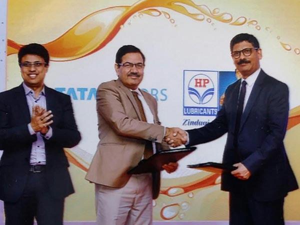 Tata Motors & Hindustan Petroleum Launch Genuine Oil Range