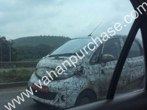 Tata Motors Planning To Launch All-New Nano, Spied Testing