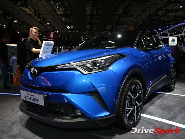 2016 Paris Motor Show: Mean Looking Toyota C-HR Crossover Debuts