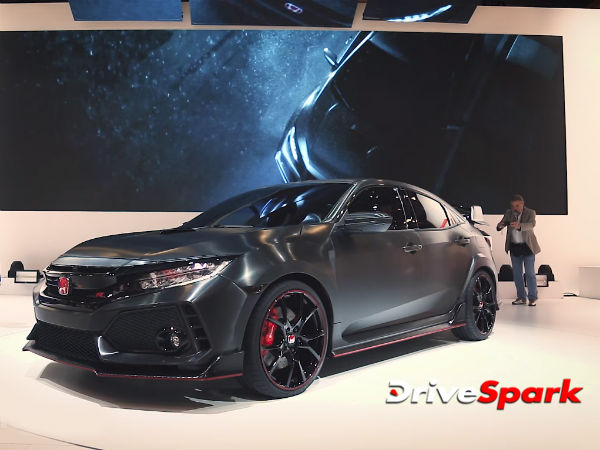 2016 Paris Motor Show: Honda Civic Type R Concept Revealed — The Craziest Civic Of All Time?