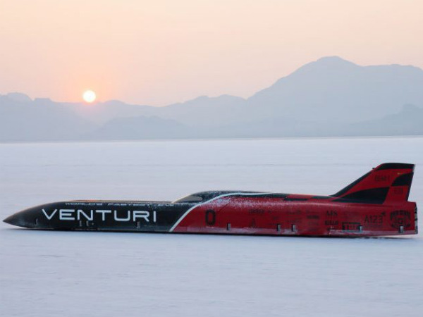 Venturi Smashes Land Speed Record For Electric Cars At Bonneville