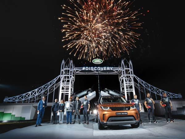 Jaguar Land Rover Takes Centre Stage In Paris With World Record & Reveals