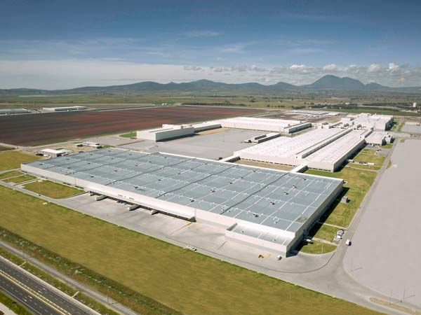 Audi AG Opens New Manufacturing Plant In Mexico