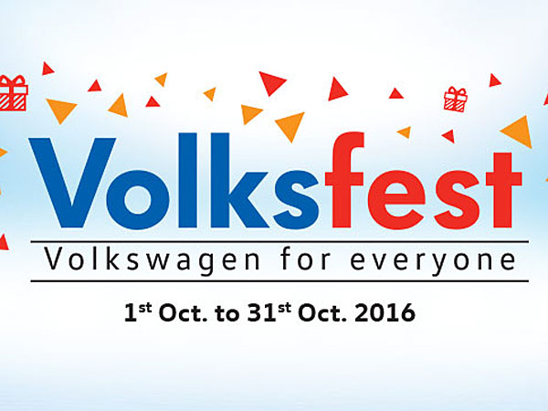 Volkswagen Introduces Volksfest For Festive Season
