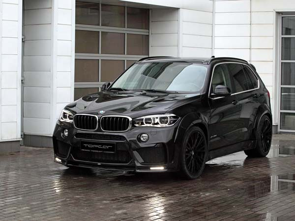 More Aggressive BMW X5 From LUMMA And TopCar