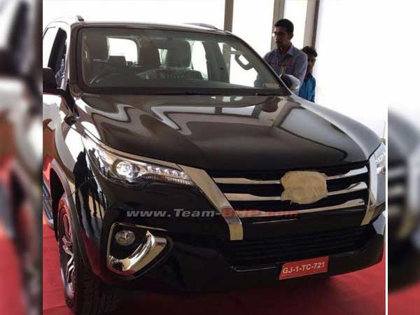 2016 Toyota Fortuner Reaches Dealerships