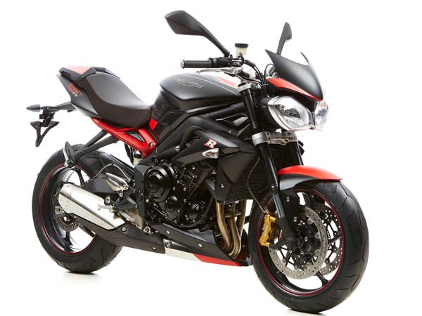 Three Limited Edition Triumph Street Triple's Available