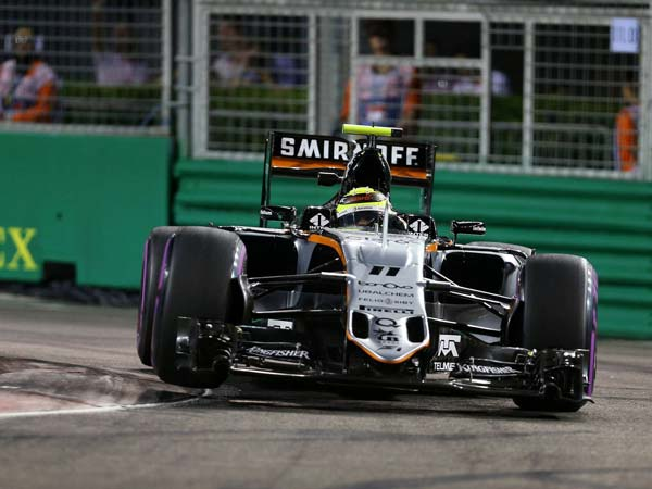 Force India Extends Sergio Perez F1 Contract