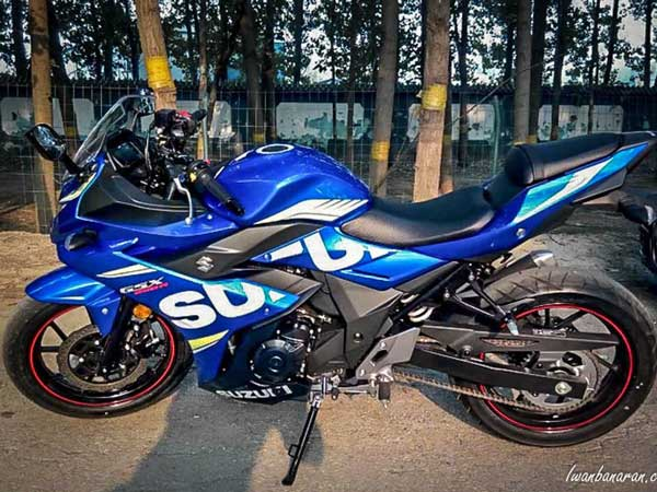 Suzuki GSX-250R Production Version Revealed