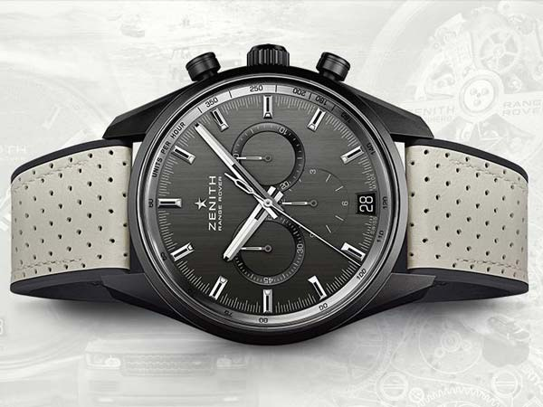 Range Rover And Zenith Come Together For Special Edition Chronograph Watch