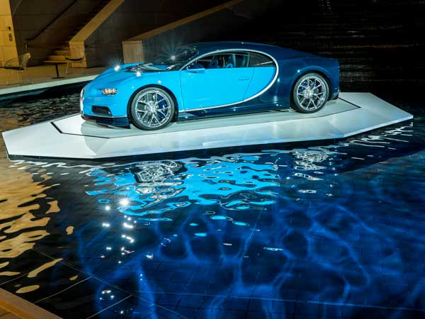 Bugatti Chiron Poses For Camera In France