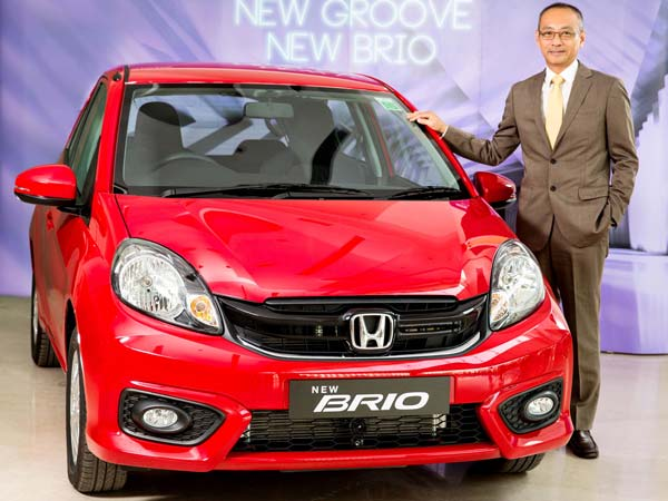 Honda Brio Facelift Launched In India; Prices Start At Rs. 4.69 Lakh