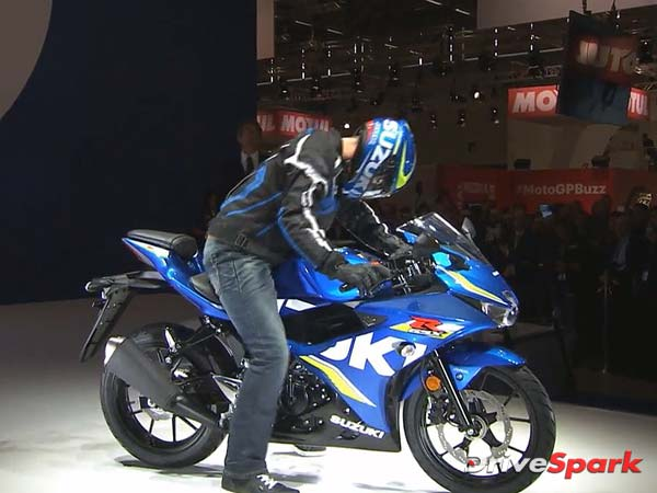 2016 Intermot Motorcycle Show: Suzuki GSX-R125 Revealed