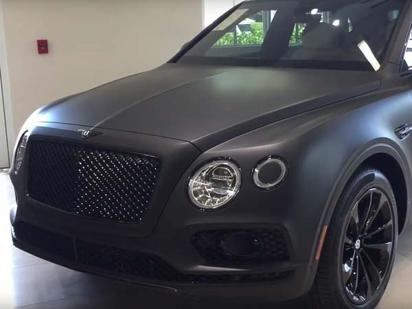 One-Off Bentayga Stealth Edition Is A Bentley Trying To Be Subtle
