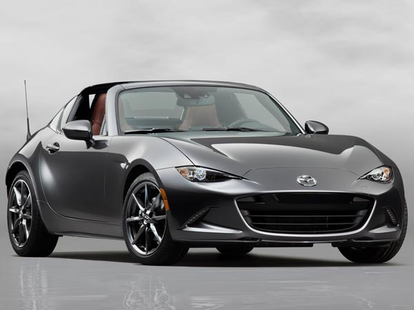 Mazda Begins MX 5 RF Production — Retractable Fastback!