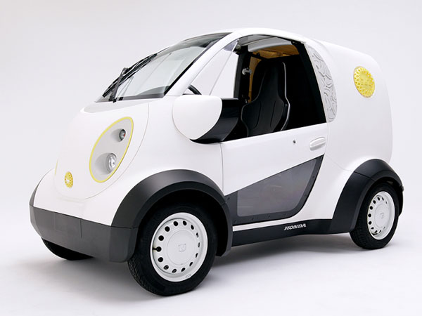 Honda Shows Off Its 3D Printed Customisable Electric Vehicle