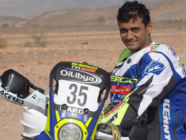 Oilibya Rally of Morocco Stage 3: TVS Sherco And KP Aravind Update