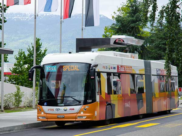 Geneva's New Buses Could Be The Perfect Solution For Pollution Problem