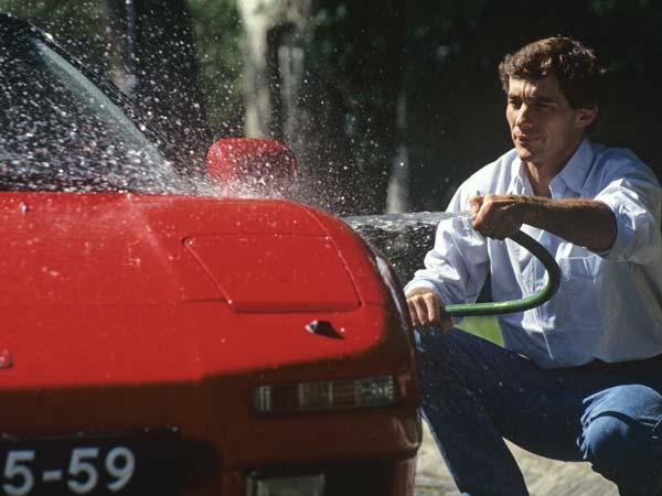 "A Short Film Titled ""Senna's Legacy – The NSX"""