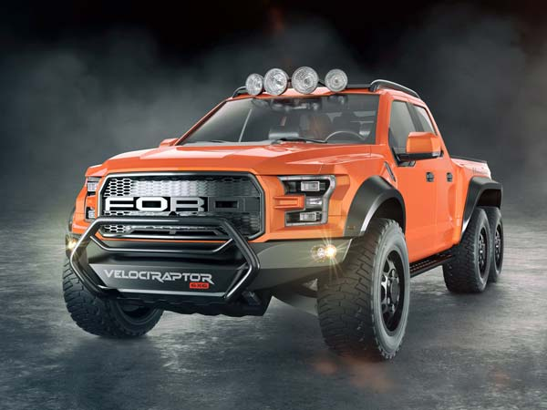 Hennessey Velociraptor 6x6 Roars Into Life — Should AMG Be Worried?